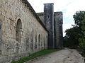 Abbaye de Silvacane - façade sud abbatiale.jpg