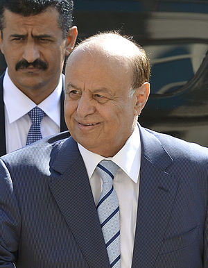 Houthi takeover in Yemen - President Abdrabbuh Mansur Hadi, who resigned on 22 January 2015.