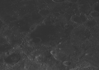 Abel (crater) - Another oblique view from Apollo 14