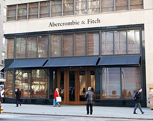 Flagship - Abercrombie & Fitch flagship store on Fifth Avenue in New York City