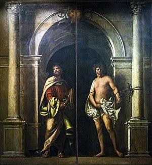 San Bartolomeo, Venice - Image: Accademia San Bartolomeo e san Sebastiano di Sebastiano del Piombo