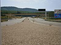Accesos al aeropuerto de Castellón.JPG