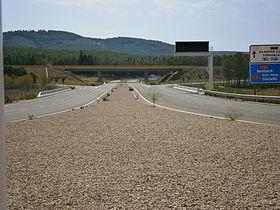 L'accès à l'aéroport de Castellón