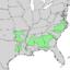 Acer floridanum range map 2.png