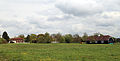 Across the village green from the north-west at Matching Green, Essex, England.jpg