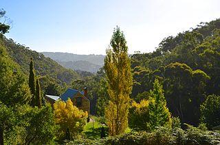 Adelaide Hills Region in South Australia