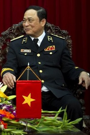 Nguyễn Văn Hiến - Image: Adm Nguyen Van Hien 2010