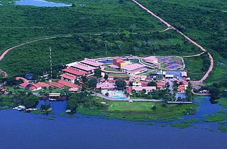 Pantanal - Hotel SESC Porto Cercado in the SESC Reserve
