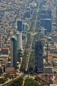 fbc081f53 Paseo de la Reforma - Wikipedia, la enciclopedia libre