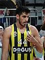 Ahmet Düverioğlu Fenerbahçe Men's Basketball vs Galatasaray Men's Basketball TSL 20180304.jpg