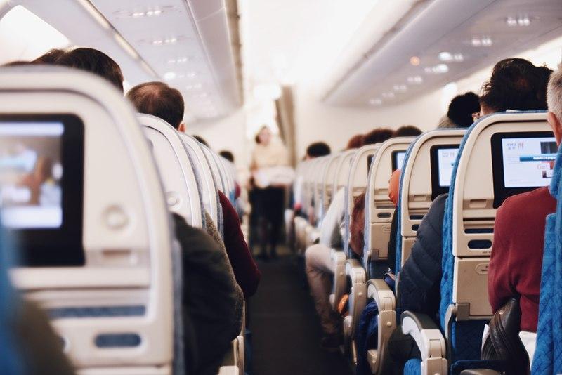 File:Airplane aisle during flight (Unsplash).jpg