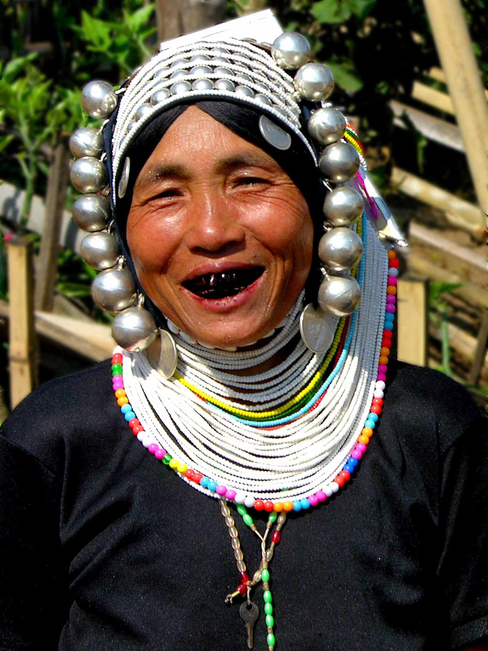 Akha woman, Myanmar