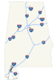 Alabama Interstates map with shields.png