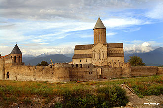 Bakhtrioni uprising - Alaverdi Monastery, one of the crucial battlefields during the uprising.