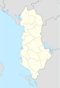 Vlorë is located in Albania