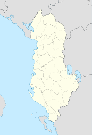 Peshkopi is located in Albania
