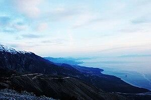 Ceraunian Mountains - View from Maja e Çikës