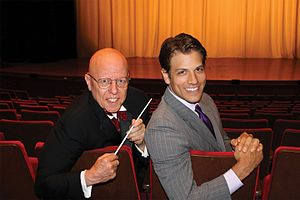 New York Gilbert and Sullivan Players - Albert Bergeret, Artistic Director, and  David Wannen, Executive Director, of NYGASP