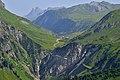 Albona Stubiger Alpe, Paul-Pantlin-Weg Flexenpass Zürs.JPG