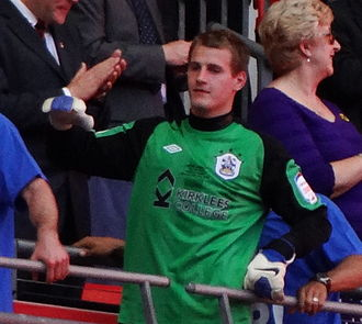 Alex Smithies - Smithies with Huddersfield Town after the 2012 League One play-off Final