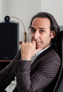 Alexandre Desplat French film composer