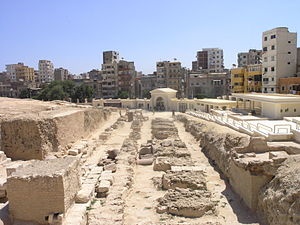 Serapeum - Remains of the Serapeum of Alexandria