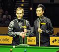 Ali Carter and Marco Fu at Snooker German Masters (DerHexer) 2013-02-03 01.jpg