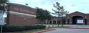 Alief Taylor High School - Front Exterior