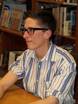 Dykes to Watch Out For - Alison Bechdel, author of Dykes to Watch Out For