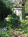 All Hallows Church Tottenham London England - churchyard urn monument 1.jpg