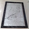 All Saints Church, Middle Claydon, Bucks, England - Rector William Butterfield memorial.jpg