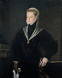 Alonso Sánchez Coello : Portrait of Juana of Austria, Princess of Portugal