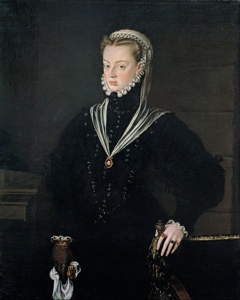 Fichier:Alonso Sánchez Coello - Portrait of Juana of Austria, Princess of Portugal - Google Art Project.jpg