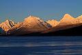 Alpenglow on Lake McDonald (5431843846).jpg