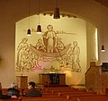 """Altarbild """"Christus am See Genezareth"""" in der Hafenkirche - panoramio.jpg"""
