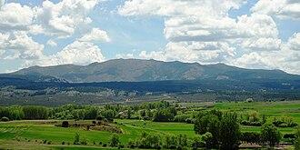 Albendiego - Image: Alto Rey, North Face