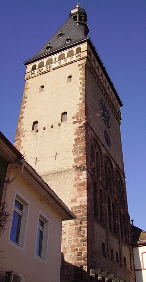 Old Gate (Speyer) - View from south