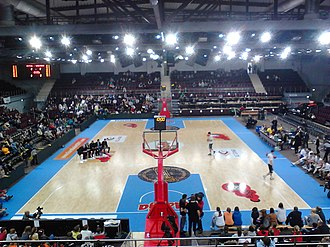 Alytus Arena - Image: Alytaus arenos aikste