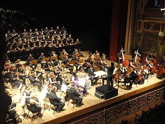 Amazonas Philharmonic - The Amazonas Philharmonic in 2011