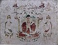 Amidhaba paradise Horyuji Mural.JPG