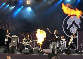 Amoral (band) - Playing at Tuska 2012 festival