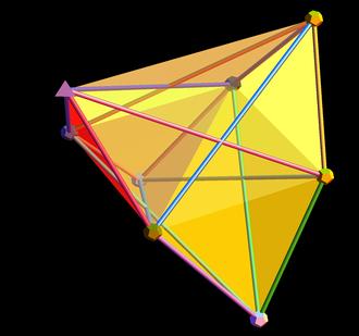 7-simplex - Image: Amplituhedron 0c