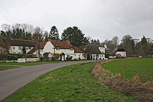 Amport - Image: Amport Village geograph.org.uk 144746