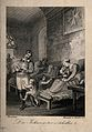 An interior of a hospital of the Order of St. John. Line eng Wellcome V0015181.jpg