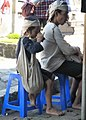Anak Suku Dalam Baduy Sedang Meminum Kopi.jpg