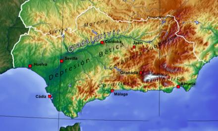 Cordillera Betica Mapa Fisico.Alta Andalucia Wikiwand