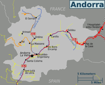 Andorra Travel guide at Wikivoyage