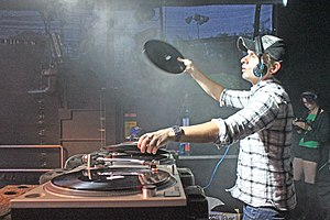 Andy C - Image: Andy C live in 2011