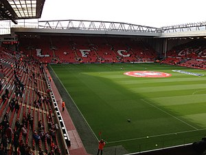 2016 Rugby League Four Nations - Image: Anfield, 20 October 2012