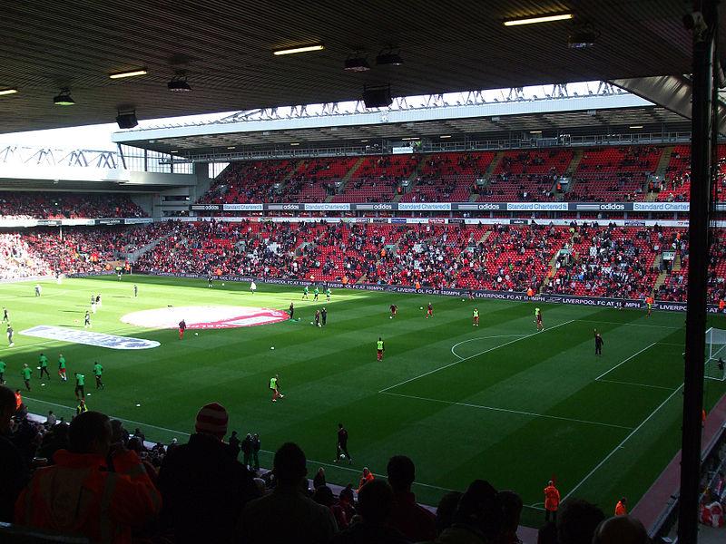 Liverpool England, Anfield Stadium